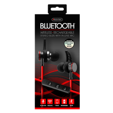 XTREAM BT EARPHONE BLACK- RED